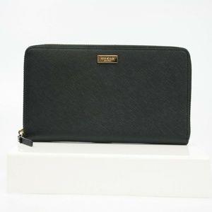 Laurel Way Kaden Travel Wallet Organizer Leather